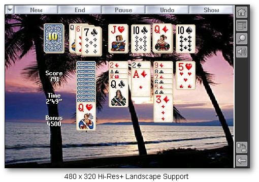 Solitaire, Games, Patience, Shareware, Freeware, Software, Downloads, Download, Palm Pilot, Pocket PC, Windows, Klondike, Freecell, Solitaire Card Games, Playing Cards, Casino Games, Free Trial Version, Solitiare, Solitario, Solitary